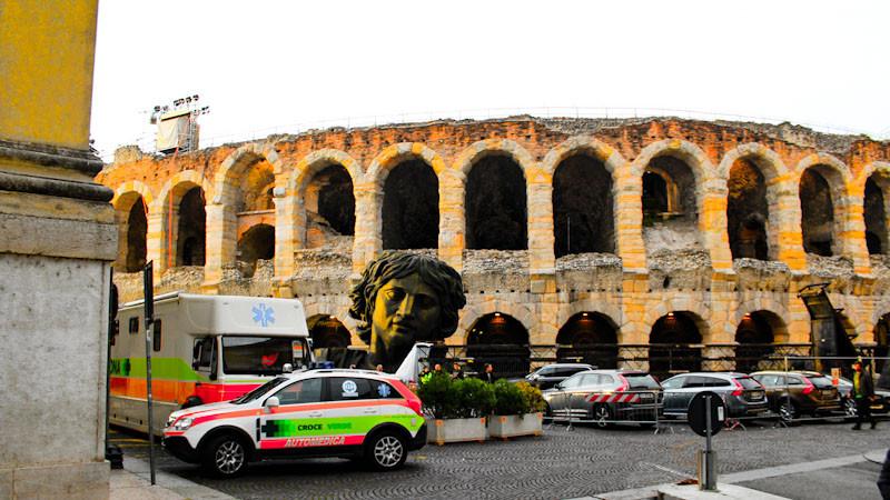 Arena de Verona por fora