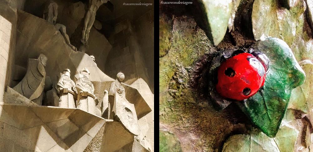 Sagrada Família: Detalhe Portas