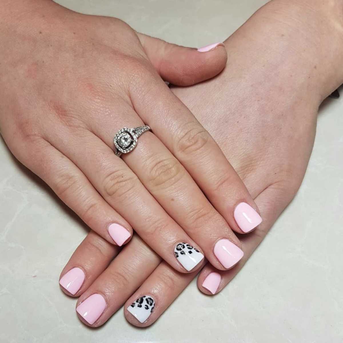 SNS with nail art