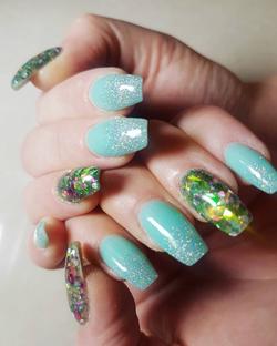 Shellac + nail art