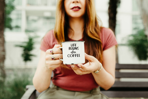 Life begins with coffee 1