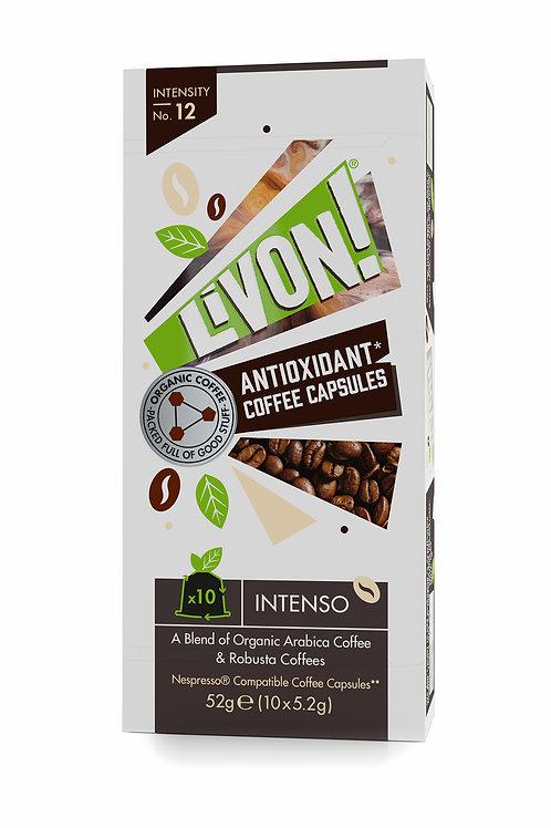 LivOn! Antioxidant Coffee Capsules - Intenso 10s
