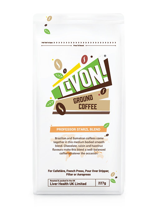 Professor Starzl Blend - Ground Coffee 227g