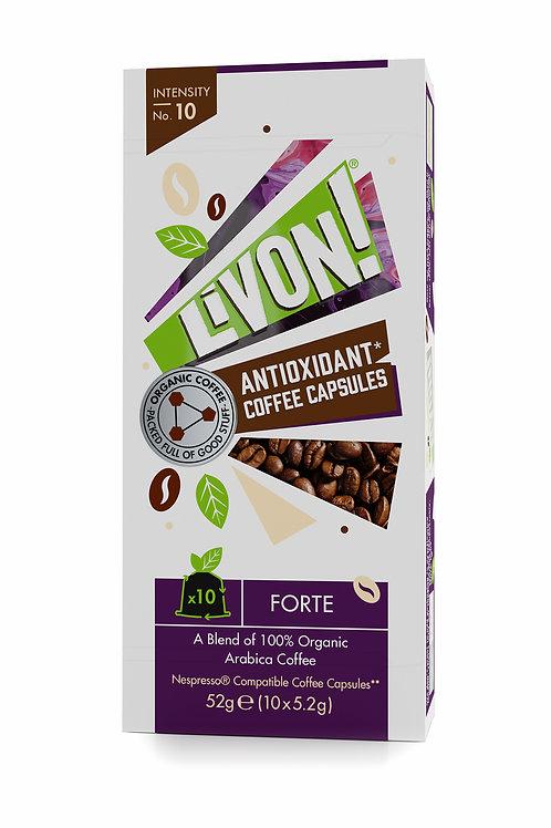 LivOn! Antioxidant Coffee Capsules - Forte 10s