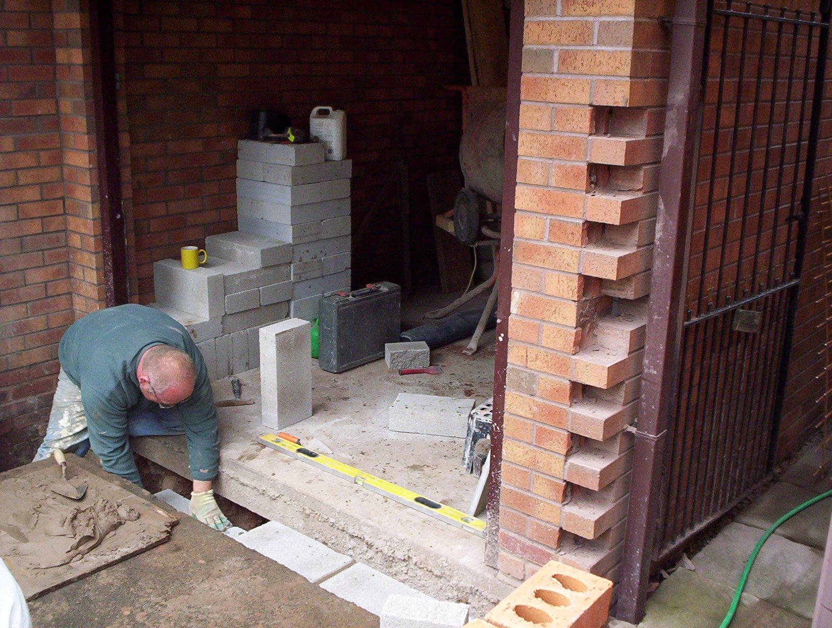 Garage conversion 2