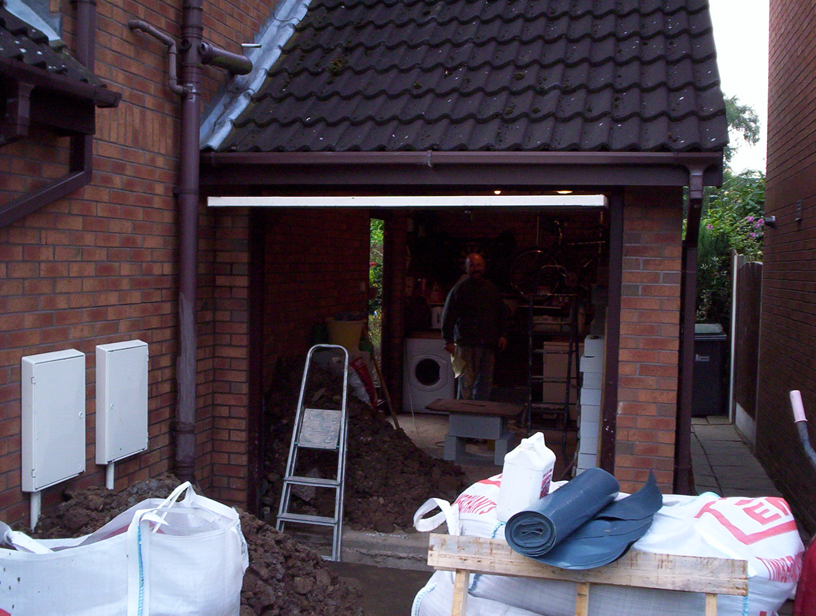 Garage conversion 1
