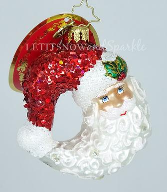 Christopher Radko Bella Luna! Gem 1019726 Unique Christmas Ornament