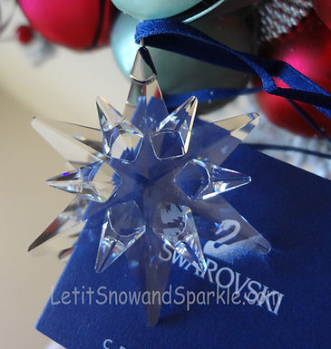 2005 Swarovski Annual Little Christmas Ornament