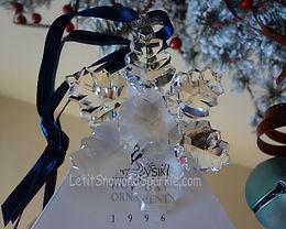 1996 Swarovski Annual Edition Christmas Ornament