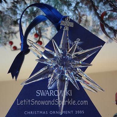 2005 Swarovski Annual Edition Christmas Ornament