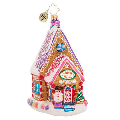 Christopher Radko The Confectioner's Chalet 1020582 Christmas Ornament