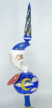 Christopher Radko Celestial Saint Nick Finial 1019498