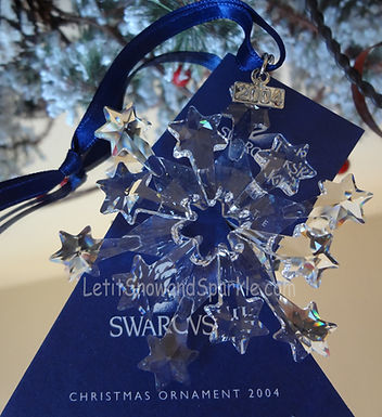 2004 Swarovski Annual Edition Christmas Ornament