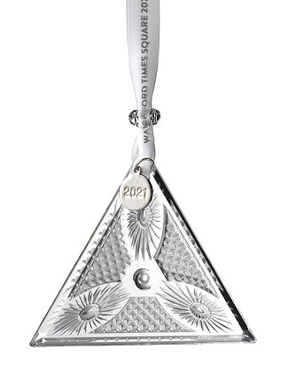Waterford 2021 Times Square Triangle 1055462 Christmas Ornament