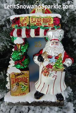 Christopher Radko Santa Bakery 1018905