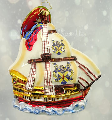 Christopher Radko On the High Seas 1020113