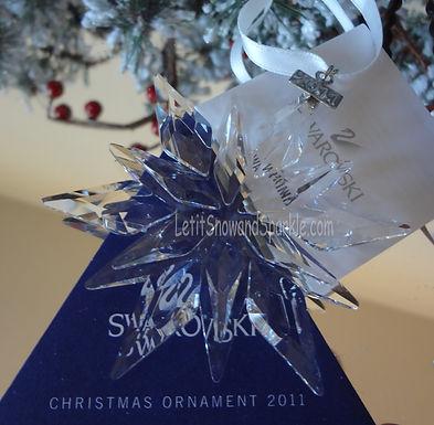 2011 Swarovski Annual Edition Christmas Ornament