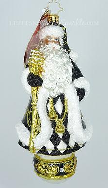 Christopher Radko Dressed To The Nines Nick Santa 1020159 Christmas Ornament
