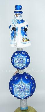 Christopher Radko Spectacular Snowman Finial 1019993
