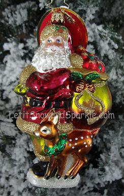 Christopher Radko Falling into the Holidays Santa 1019434