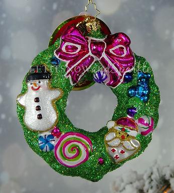 Christopher Radko Delightfully Decadent Wreath 1019916
