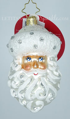 Christopher Radko Winter Frost Santa Gem 1019897 Christmas Ornament