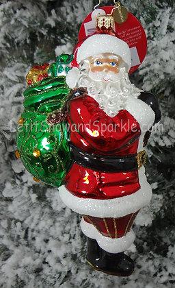 Christopher Radko The Ole' Holiday Heave-Ho! Santa 1019568
