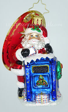 Christopher Radko Dear Santa Gem 1020230