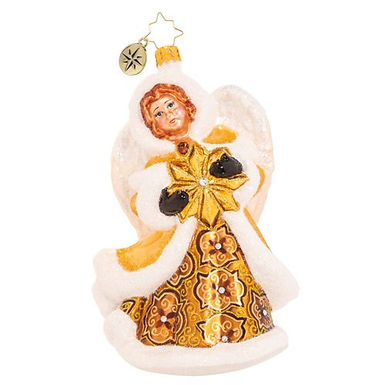 Christopher Radko Dashingly Divine Angel 1020577 Christmas Ornament