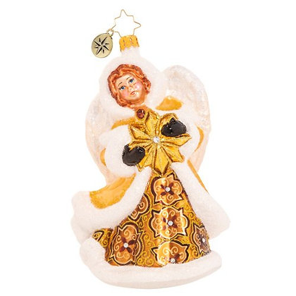 Christopher Radko Dashingly Divine Angel 1020577 Christmas Ornament