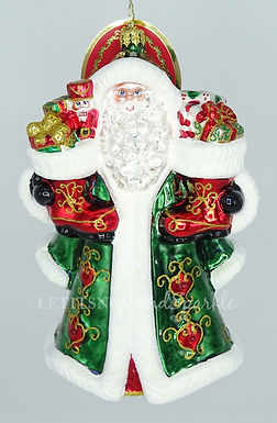 Christopher Radko Big Shoes To Fill Santa 1020198 Christmas Ornament