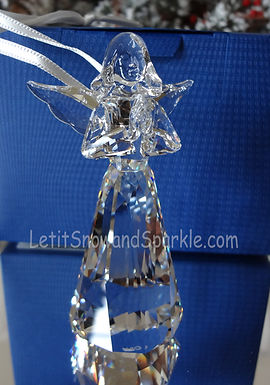 2015 SWAROVSKI CRYSTAL ANNUAL ANGEL ORNAMENT 5135833 CHRISTMAS RETIRED