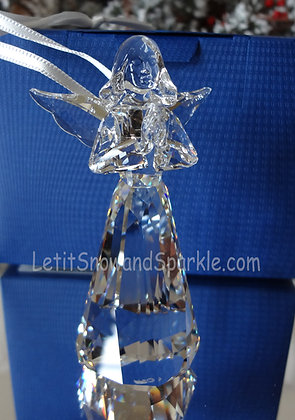 2015 SWAROVSKI CRYSTAL ANNUAL ANGEL ORNAMENT 5135833 CHRISTMAS RETIRED