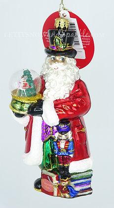 Christopher Radko Dance of the Sugar Plum Fairy Santa 1019465
