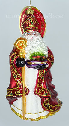 Christopher Radko Too Blessed To Stress Santa 1020081 Christmas Ornament