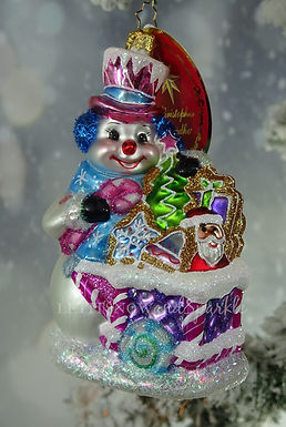Christopher Radko Tasty Snow Confectionery! 1019936