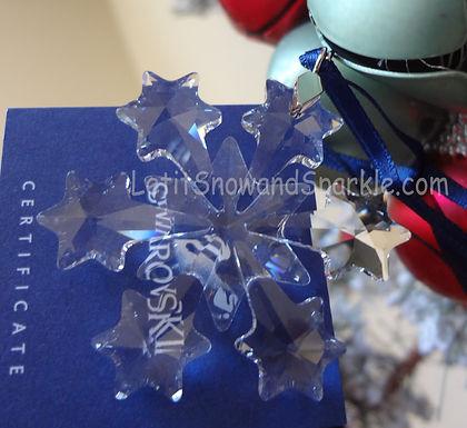 2004 Swarovski Annual Little Christmas Ornament