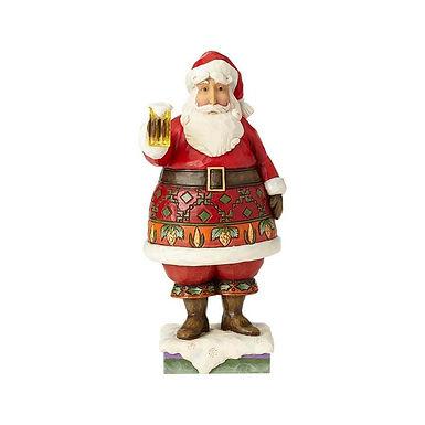 Jim Shore Heartwood Creek Craft Beer Santa 6001470 New 2018