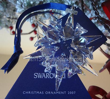 2007 Swarovski Annual Edition Christmas Ornament