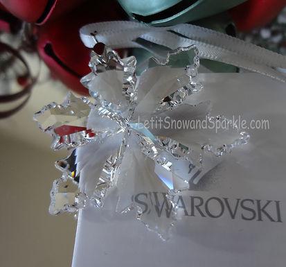 2014 Swarovski Annual Little Christmas Ornament