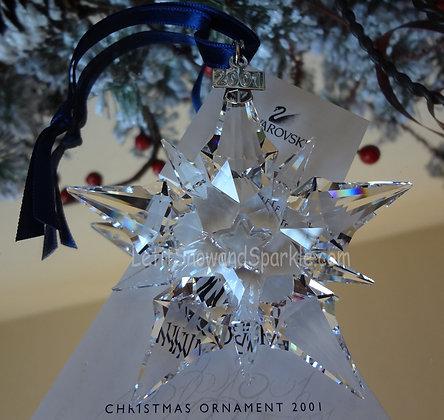 2001 Swarovski Annual Edition Christmas Ornament