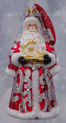 Christopher Radko Tea Time Santa 1019646