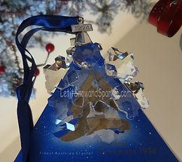 1994 Swarovski Annual Edition Christmas Ornament