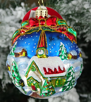 Christopher Radko Inspiring Santa Silhouette 1019057