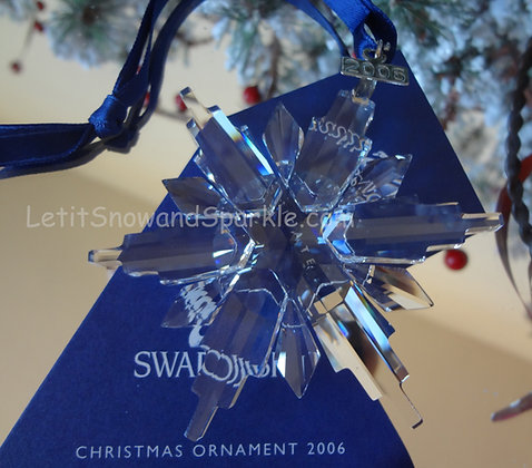 2006 Swarovski Annual Edition Christmas Ornament