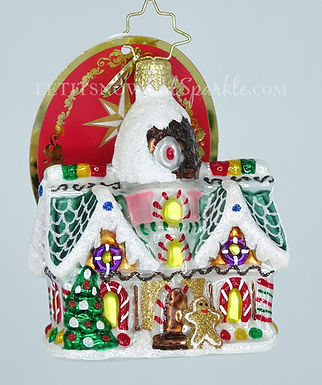 Christopher Radko Sweet Invitation Gem 1019741  Christmas Ornament