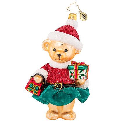 Christopher Radko  Ready To Celebrate Muffy 1020895 Christmas Ornament