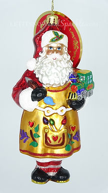 Christopher Radko Workshop Fun! Santa 1019833 Christmas Ornament