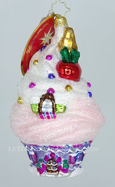 Christopher Radko Frosted To Perfection Candy Sweets 1020419 Christmas Ornament