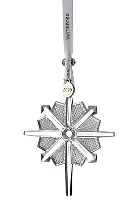 Waterford 2020 Snowstar Pierced 1055097 Christmas Ornament